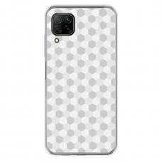 """Huawei P40 Lite Unique Silicone Case 1.0 mm """"u-case Airskin Pattern 5 design"""""""