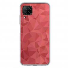 """Huawei P40 Lite Unique Silicone Case 1.0 mm """"u-case Airskin Pattern 6 design"""""""