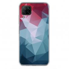 """Huawei P40 Lite Unique Silicone Case 1.0 mm """"u-case Airskin Pattern 8 design"""""""