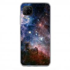 """Huawei P40 Lite Unique Silicone Case 1.0 mm """"u-case Airskin Space 2 design"""""""