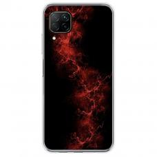 """Huawei P40 Lite Unique Silicone Case 1.0 mm """"u-case Airskin Space 3 design"""""""