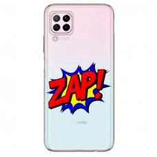 """Huawei P40 Lite Unique Silicone Case 1.0 mm """"u-case airskin ZAP design"""""""