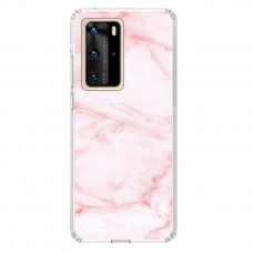 "Huawei P40 Pro Unique Silicone Case 1.0 mm 1.0 mm ""u-case airskin Marble 5 design"""