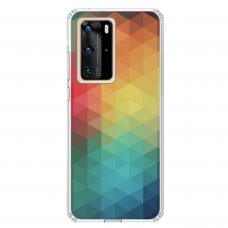 """Huawei P40 Pro Unique Silicone Case 1.0 mm 1.0 mm """"u-case airskin Pattern 3 design"""""""