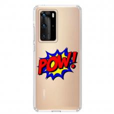 "Huawei P40 Pro Unique Silicone Case 1.0 mm 1.0 mm ""u-case airskin POW design"""