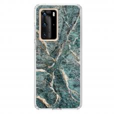 "Huawei P40 Pro Unique Silicone Case 1.0 mm ""u-case airskin Marble 1 design"""