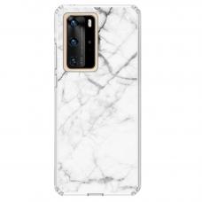 "Huawei P40 Pro Unique Silicone Case 1.0 mm ""u-case Airskin Marble 6 design"""