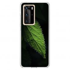 "Huawei P40 Pro Unique Silicone Case 1.0 mm ""u-case Airskin Nature 1 design"""