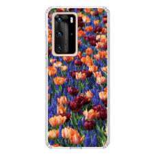 "Huawei P40 Pro Unique Silicone Case 1.0 mm ""u-case Airskin Nature 2 design"""