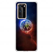 "Huawei P40 Pro Unique Silicone Case 1.0 mm ""u-case Airskin Nature 4 design"""
