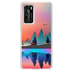 "Huawei P40 Pro Unique Silicone Case 1.0 mm ""u-case Airskin Nature 5 design"""