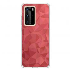 """Huawei P40 Pro Unique Silicone Case 1.0 mm """"u-case Airskin Pattern 6 design"""""""