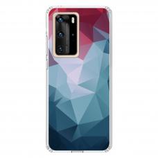 """Huawei P40 Pro Unique Silicone Case 1.0 mm """"u-case Airskin Pattern 8 design"""""""