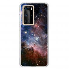 """Huawei P40 Pro Unique Silicone Case 1.0 mm """"u-case Airskin Space 2 design"""""""