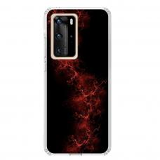 """Huawei P40 Pro Unique Silicone Case 1.0 mm """"u-case Airskin Space 3 design"""""""