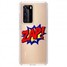 """Huawei P40 Pro Unique Silicone Case 1.0 mm """"u-case airskin ZAP design"""""""