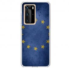 """Huawei P40 Unique Silicone Case 1.0 mm 1.0 mm """"u-case airskin EU design"""""""