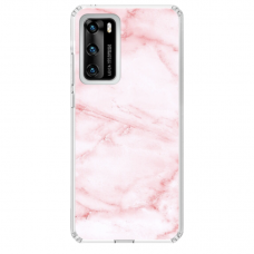 "Huawei P40 Unique Silicone Case 1.0 mm 1.0 mm ""u-case airskin Marble 5 design"""