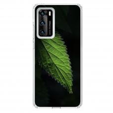 """Huawei P40 Unique Silicone Case 1.0 mm """"u-case Airskin Nature 1 design"""""""