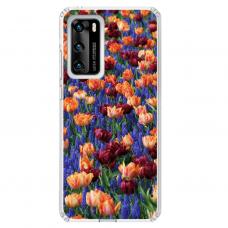 """Huawei P40 Unique Silicone Case 1.0 mm """"u-case Airskin Nature 2 design"""""""
