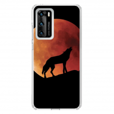 """Huawei P40 Unique Silicone Case 1.0 mm """"u-case Airskin Nature 3 design"""""""