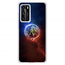 """Huawei P40 Unique Silicone Case 1.0 mm """"u-case Airskin Nature 4 design"""""""
