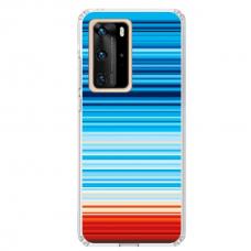"""Huawei P40 Unique Silicone Case 1.0 mm """"u-case airskin Pattern 2 design"""""""