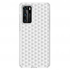 """Huawei P40 Unique Silicone Case 1.0 mm """"u-case Airskin Pattern 5 design"""""""