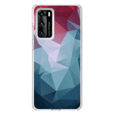 """Huawei P40 Unique Silicone Case 1.0 mm """"u-case Airskin Pattern 8 design"""""""