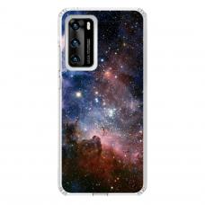 """Huawei P40 Unique Silicone Case 1.0 mm """"u-case Airskin Space 2 design"""""""