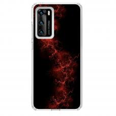 """Huawei P40 Unique Silicone Case 1.0 mm """"u-case Airskin Space 3 design"""""""