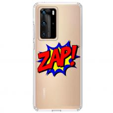 """Huawei P40 Unique Silicone Case 1.0 mm """"u-case airskin ZAP design"""""""
