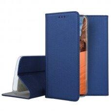 huawei y9 2019 Eco leather flip case Mocco Smart Magnet blue