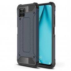 Hybrid Armor Case Tough Rugged Cover for Huawei P40 Lite / Nova 7i / Nova 6 SE blue