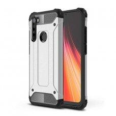 Hybrid Armor Case Tough Rugged Cover for Samsung Galaxy A11 / M11 silver
