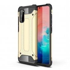 Hybrid Armor Case Tough Rugged Cover for Samsung Galaxy S20 golden (SSGS20)
