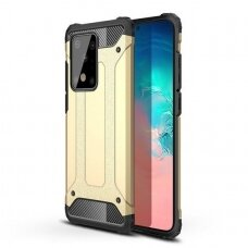 Hybrid Armor Case Tough Rugged Cover for Samsung Galaxy S20 Plus golden (SAS20PL)