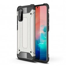 Hybrid Armor Case Tough Rugged Cover for Samsung Galaxy S20 silver (SSGS20)