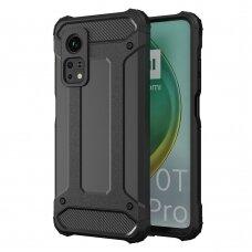 Hybrid Armor Case Tough Rugged Cover for Xiaomi Mi 10T Pro / Xiaomi Mi 10T black