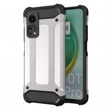 Hybrid Armor Case Tough Rugged Cover for Xiaomi Mi 10T Pro / Xiaomi Mi 10T silver