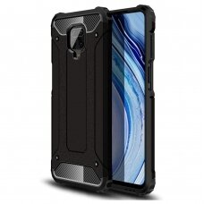 Hybrid Armor Case Tough Rugged Cover for Xiaomi Redmi 10X 4G / Xiaomi Redmi Note 9 black