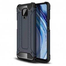 Hybrid Armor Case Tough Rugged Cover for Xiaomi Redmi 10X 4G / Xiaomi Redmi Note 9 blue