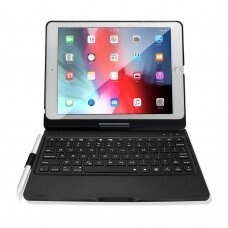 "Ipad 2017 (9.7"") Flip case with bluetooth keyboard ""Dux Ducis wireless"" Black"