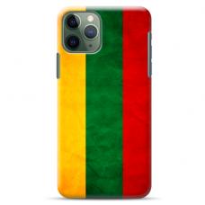 "Iphone 11 pro max silicone phone case with unique design 1.0 mm ""u-case Airskin Lietuva design"""