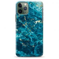 """Iphone 11 Pro max silicone phone case with unique design 1.0 mm """"u-case airskin Marble 2 design"""""""