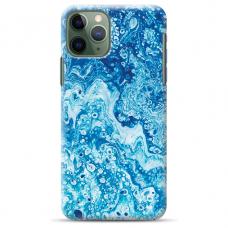 """Iphone 11 Pro Max silicone phone case with unique design 1.0 mm """"u-case Airskin Marble 3 design"""""""