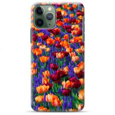 """Iphone 11 Pro max silicone phone case with unique design 1.0 mm """"u-case Airskin Nature 2 design"""""""