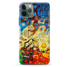 "Iphone 11 Pro max silicone phone case with unique design 1.0 mm ""u-case Airskin Pattern 1 design"""
