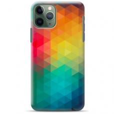 "Iphone 11 Pro max silicone phone case with unique design 1.0 mm ""u-case Airskin Pattern 3 design"""