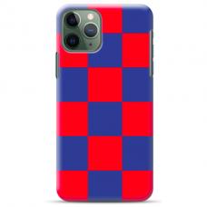 "Iphone 11 Pro max silicone phone case with unique design 1.0 mm ""u-case Airskin Pattern 4 design"""